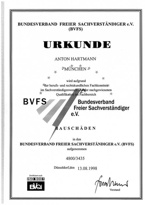 BVFS Bauschäden