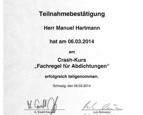 Die Bayerischen DachdeckerH artmann Manuel Crash Kurs