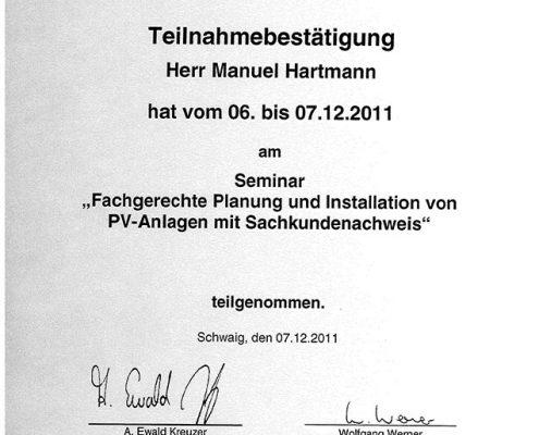 Die Bayerischen Dachdecker Manuel Hartmann Fachgerechte Planung PV-Anlagen