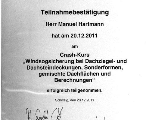 Die Bayerischen Dachdecker Manuel Hartmann Windsogsicherung