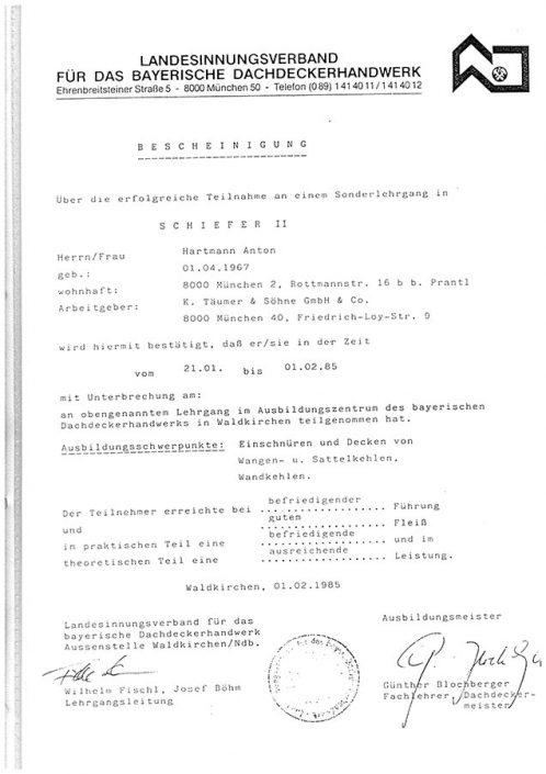 Landesinnungsverband Schiefer