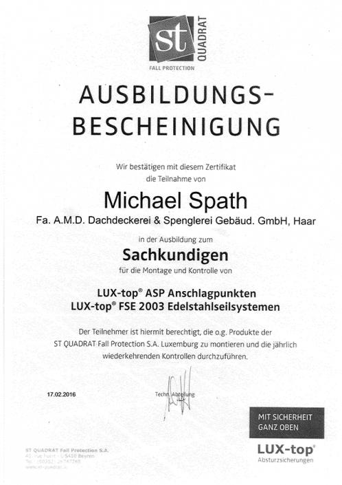 ST QUADRAT Spath Michael Sachkundiger Edelstahlseilsysteme