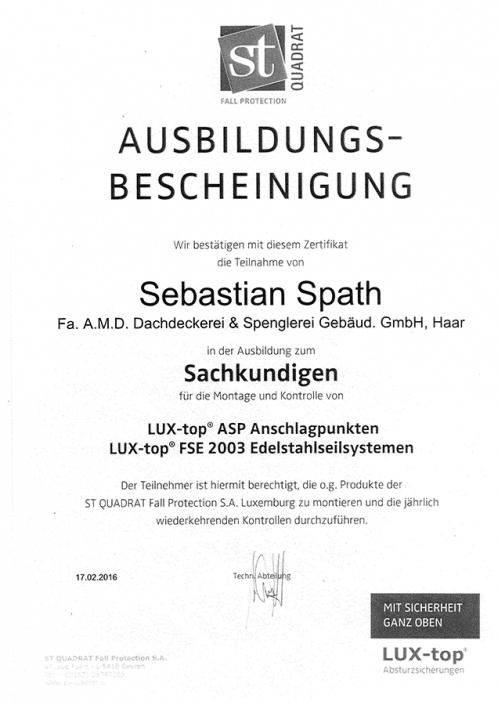 ST QUADRAT Spath Sebastian Edelstahlseilsysteme