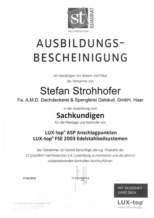 ST QUADRAT Strohhofer Stefan Edelstahlseilsysteme