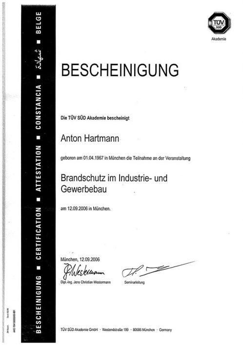 TUV Akademie Brandschutz