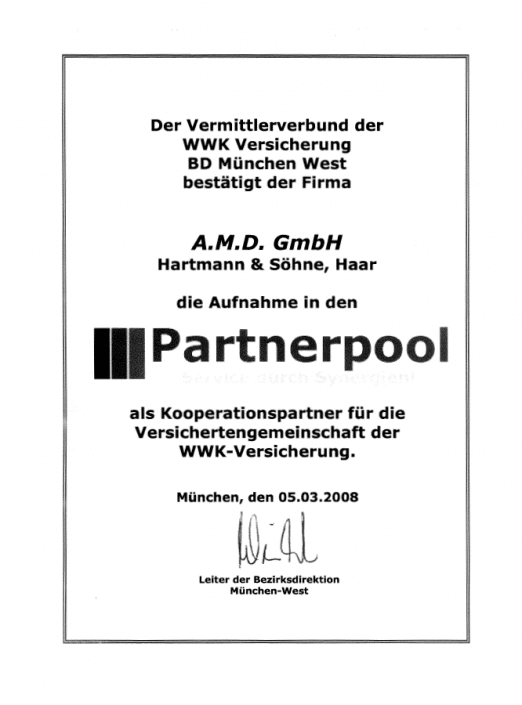 WWK Partnerpool