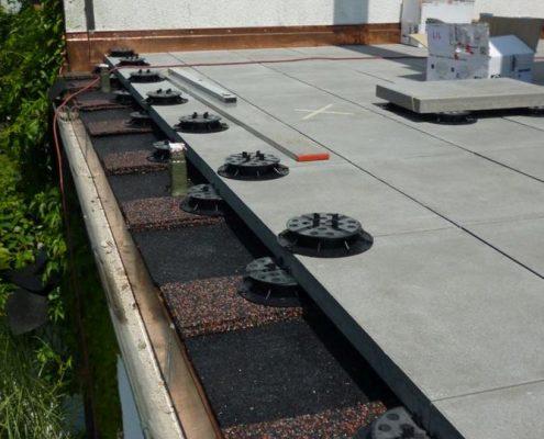 In diesem Bereich sieht man wie genau und filigran oftmals gearbeitet werden muss, so dass der Kunde zum Schluss Freude an seiner Terrasse hat