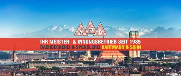 A.M.D. Dachdeckerei Spenglerei Geb. GmbH, Dachdecker München und Umgebung