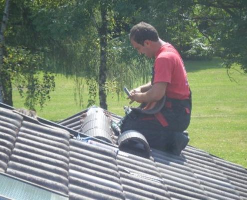 Dachdeckerarbeiten - Dachdecker
