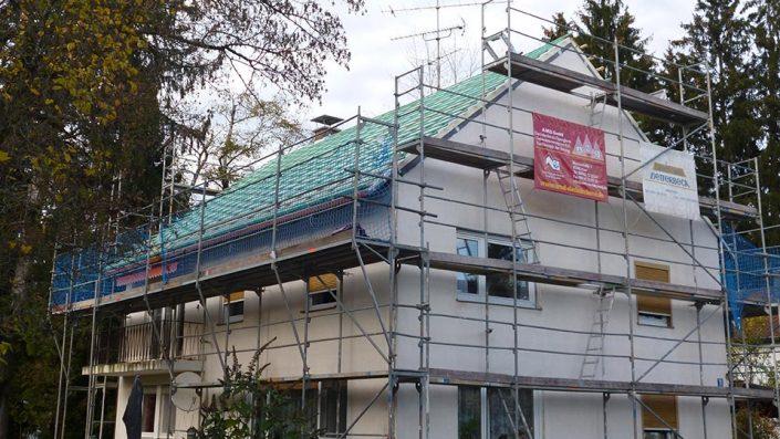 Neu-Erstellung eines Daches