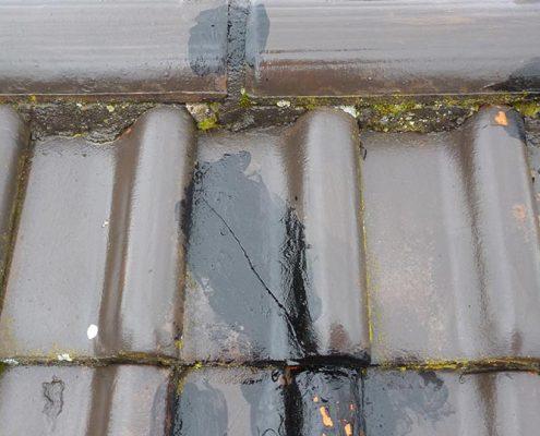 Leider wurden die Reparaturarbeiten von einer anderen Firma nicht fachgerecht ausgeführt – wir haben selbstverständlich fachgerecht nachgebessert!
