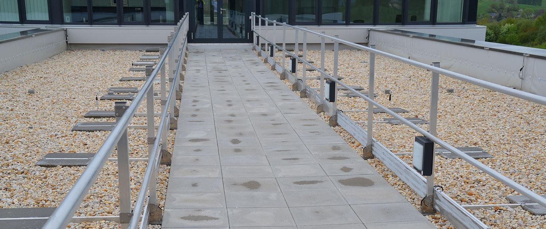 Dachbegehungssysteme und Dachlaufanlagen