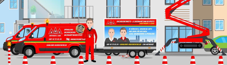 Verkehrssicherung Dachdecker