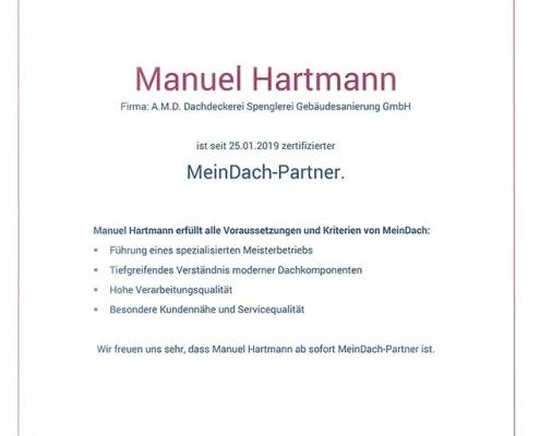 Manuel Hartmann – MeinDach-Partner
