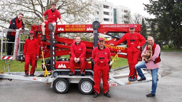 Unser Dachdecker München Team