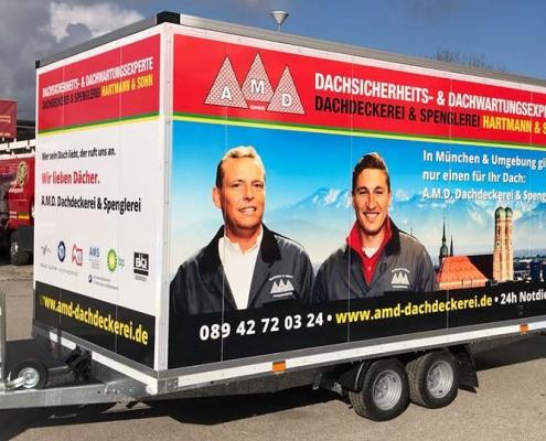Dachdecker & Spengler München Verkehrssicherheit