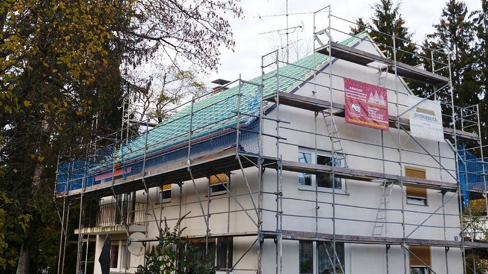 Dachdecker München im Einsatz