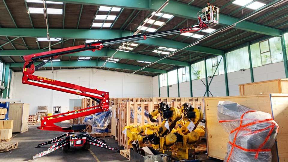 Arbeitsbühne München Dachdeckerarbeiten