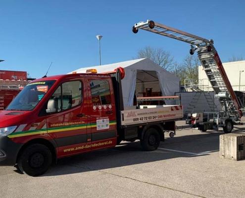 Dachdecker & Spengler Lastenaufzug