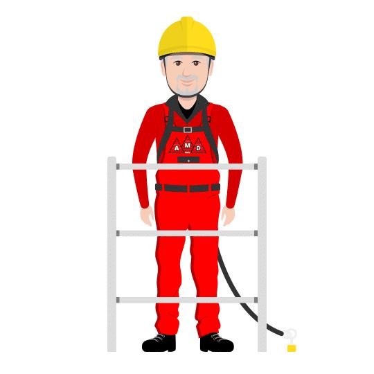 Dachabsturzsicherung – ab 2 Meter dringend erforderlich!