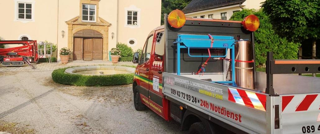 Dachdecker Spengler Furhpark München