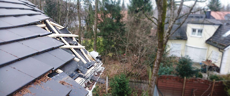 Sturmschaden Dach-Check München