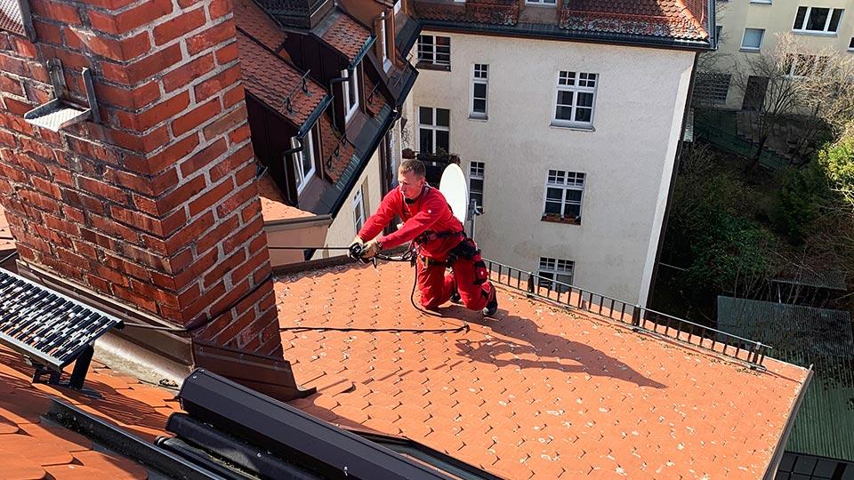 Dachdecker München Dachreparatur
